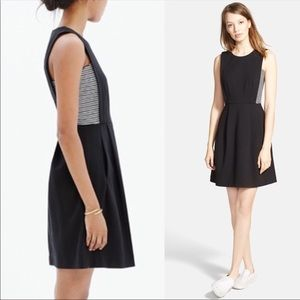 Madewell Abroad Dress with Stripe Inset